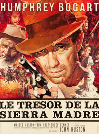 """The Treasure of the Sierra Madre (Athos, R-1965). French Grande (46"""" X 61.75"""")"""