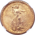 Saint-Gaudens Double Eagles, 1927-S $20 AU55 NGC....