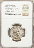 Ancients:Roman Provincial , Ancients: SYRIA. Antioch. Philip I (AD 244-249). Billon tetradrachm(11.15 gm)....