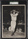 Baseball Cards:Singles (1940-1949), 1949 Cleveland Indians Action Picture Pack Satchell Paige SGC 60 EX5....
