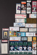 Baseball Collectibles:Tickets, Perfect Game Collection of Tickets, Joss T206 and more....