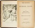 Books:Literature Pre-1900, Thomas Hughes. Tom Brown's School Days. Chicago: Belford,Clarke, 1887. New edition, beautifully illustrated. Origin...