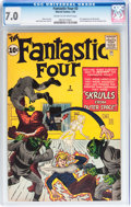 Silver Age (1956-1969):Superhero, Fantastic Four #2 (Marvel, 1962) CGC FN/VF 7.0 Cream to off-white pages....