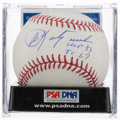 "Autographs:Baseballs, Carl Yastrzemski ""TC 1967 HOF 89""Single Signed Baseball, PSA Mint+9.5...."