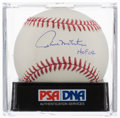 Autographs:Baseballs, Paul Molitor Single Signed Baseball, PSA Gem Mint 10....