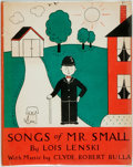 Books:Music & Sheet Music, Lois Lenski. Songs of Mr. Small. With music by Clyde RobertBulla. New York: Oxford University Press, 1954. First ed...