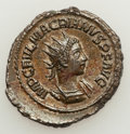 Ancients:Roman Imperial, Ancients: Macrianus Minor (AD 260-261). AR antoninianus (4.06 gm)....
