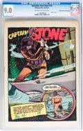 Golden Age (1938-1955):Adventure, Holyoke One-Shot #10 Captain Stone - Mile High pedigree (Holyoke Publications, 1945) CGC VF/NM 9.0 Off-white to white pages....