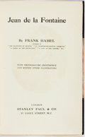 Books:Biography & Memoir, Frank Hamel. Jean de la Fontaine. With photogravurefrontispiece and sixteen other illustrations. London: Stanley Pa...