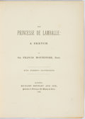 Books:Biography & Memoir, Sir Francis Montefiore. The Princess de Lamballe: A Sketch.With numerous illustrations. London: Richard Bentley and...