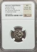 Ancients:Celtic, Ancients: BRITAIN. Durotriges. Uninscribed. Ca. 60 BC-AD45. Billonstater (5.78 gm)....