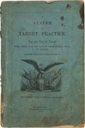 "Militaria:Ephemera, Book: ""A System of Target Practice for the Use of Troops When Armed with the Musket, Rifle-Musket, Rifle or Carbine""...."