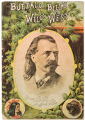 "Western Expansion:Cowboy, William F. ""Buffalo Bill"" Cody: Wild West Show Program...."