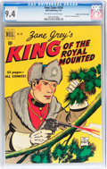 Golden Age (1938-1955):Adventure, Four Color #310 King of the Royal Mounted - Mile High pedigree (Dell, 1951) CGC NM 9.4 Off-white to white pages....