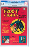 Golden Age (1938-1955):Superhero, Real Fact Comics #5 (DC, 1946) CGC VF+ 8.5 Off-white to white pages....