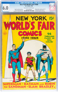 Golden Age (1938-1955):Superhero, New York World's Fair Comics 1940 (DC, 1940) CGC FN 6.0 Off-whiteto white pages....