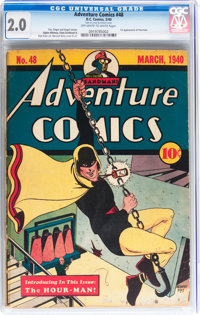 Adventure Comics #48 (DC, 1940) CGC GD 2.0 Off-white to white pages