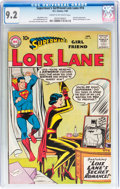 Silver Age (1956-1969):Superhero, Superman's Girlfriend Lois Lane #14 (DC, 1960) CGC NM- 9.2 Cream to off-white pages....