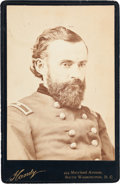 Photography:Cabinet Photos, Union Brigadier General Edward Stuyvesant Bragg: Beautiful CabinetCard Photograph of the Iron Brigade Commander....