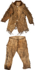 """Western Expansion:Cowboy, Buckskin """"Mountain Man"""" Style Outfit. ..."""