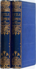 Books:Literature 1900-up, Louisa May Alcott. Little Women; or, Meg, Jo, Beth, and Amy.Boston: Roberts Brothers, 1876. Later edition. Complete... (Total:2 Items)