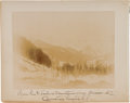 Transportation:Railroad, Illecillewaet Glacier: An 1892-dated Original Photo.... (Total: 2Items)