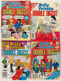 Modern Age (1980-Present):Humor, Archie Digest-Format Comics Box Lot (Archie, 1980s) Condition:Average FN....