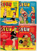 Magazines:Humor, Army and Navy Fun Parade Group (Fun Parade, 1940s-50s) Condition:Average VF....