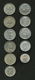 Brazil: , Brazil: Republic Selection of 200 and 300 Reis, eleven coins, allUNC: 200 Reis KM504 1901, KM519 1929, 1932 and 1935, KM528(1932),... (Total: 11 coins Item)