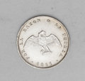 Chile: , Chile: Republic Medio Decimo 1861, KM121a, brilliant UNC, lightlycleaned, very sharp details. A choice example of this reducedwei...