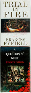 Books:Mystery & Detective Fiction, Frances Fyfield. Two First Editions. London: Heinemann, [variousdates]. Publisher's cloth and original dust jackets. Some h...(Total: 2 Items)