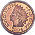 Proof Indian Cents, 1906 1C PR66 Red and Brown PCGS. CAC....