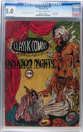 Golden Age (1938-1955):Classics Illustrated, Classic Comics #8 Arabian Knights - First Edition (Gilberton, 1943)CGC VG/FN 5.0 Off-white to white pages....