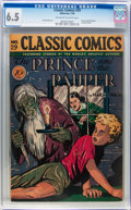 Golden Age (1938-1955):Classics Illustrated, Classic Comics #29 The Prince and the Pauper - First Edition(Gilberton, 1946) CGC FN+ 6.5 Off-white to white pages....