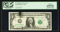 Error Notes:Ink Smears, Fr. 1909-K $1 1977 Federal Reserve Note. PCGS Gem New 65PPQ.. ...