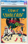 Golden Age (1938-1955):Superhero, Comic Cavalcade #16 Mile High pedigree (DC, 1946) CGC VF+ 8.5 White pages....