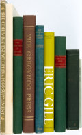 Books:Books about Books, [Books about Books]. Group of Ten Books about Books. Variouspublishers and dates. Original bindings; dust jackets if applic...(Total: 10 Items)