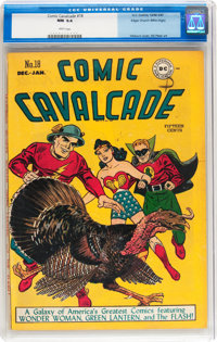 Comic Cavalcade #18 Mile High pedigree (DC, 1946) CGC NM 9.4 White pages