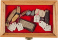 Military & Patriotic:Civil War, Civil War and Earlier Artifacts: Great Group with Superb Provenance, Each Piece Having a 19th Century Ink Script Tag....