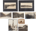 Western Expansion:Goldrush, Alaska Yukon Gold Rush: Collection of Eight Original AlbumenImages, Circa 1900. ... (Total: 8 Items)