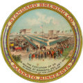 Advertising:Trays, Minnesota Sioux Uprising: A Classic Beer Advertising Tray Depicting the Famous Hanging. ...