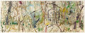 Paintings, LILIAN GARCIA-ROIG (American, b. 1966). Taos Dawn, 1994. Monotype in colors. 21 x 55 inches (53.3 x 139.7 cm) (sheet). S...