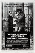 "Movie Posters:Academy Award Winners, Midnight Cowboy (United Artists, 1969 & R-1980). Pressbook (12Pages, 11"" X 17"") & One Sheet (27"" X 41""). Academy AwardWinn... (Total: 2 Items)"