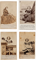 Photography:CDVs, Virginia Slave Child Redeemed: Four Cartes de Visite.... (Total: 4 )