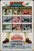 """Movie Posters:Fantasy, The 3 Worlds of Gulliver (Columbia, 1960). One Sheet (27"""" X 41"""").Fantasy.. ..."""