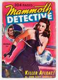 Pulps:Detective, Mammoth Detective V2#2 (Ziff-Davis, 1943) Condition: FN-....