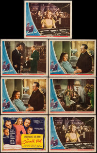 "The Seventh Veil (Universal, 1946). Title Lobby Card & Lobby Cards (6) (11"" X 14""). Drama. ... (Total:..."