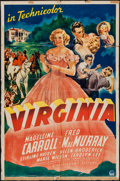 "Movie Posters:Romance, Virginia (Paramount, 1941). One Sheet (27"" X 41"") & Lobby Cards (9) (11"" X 14""). Romance.. ... (Total: 10 Items)"