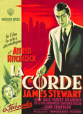"Movie Posters:Hitchcock, Rope (Warner Brothers, 1948). French Grande (45"" X 61.75"").. ..."