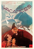 "Movie Posters:Comedy, Holiday (Columbia, Late 1940s). First Post-War Release FrenchGrande (44"" X 64.5"").. ..."